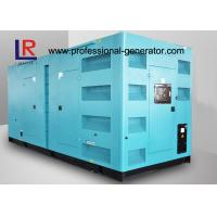 Cheap CE ISO 680kw 850kVA Silent Diesel Power Generator with Cummins Engine for sale