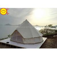 Cheap Outdoor Inflatable Tent Waterproof Cotton Canvas Family Camping Bell Tent Indian Teepee Tent for sale