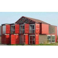 Cheap Custom Container House Prefab Rockwool Or Glass Fiber Sandwich Wall Panel for sale