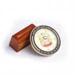 Cheap Soft Enamel Logo Printed Custom Metal Coins With Pedestal Sports Theme for sale