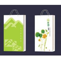 Cheap High Quality kraft packing bag OEM with handle for sale