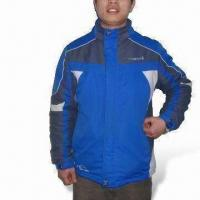Cheap Ski/Winter Jacket with 100% Polyester Lining, Tape Seam, Waterproof and Breathable for sale