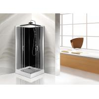 Cheap Square White ABS Tray Corner Shower Cabins 900 X 900 CE SGS Certification for sale