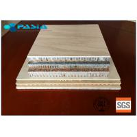 Buy cheap 600x600 Sized Marble Honeycomb Stone Panels Aluminum Honeycomb Core Panels from wholesalers