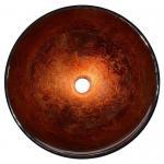 Cheap Modern Artistic Glass Bowl Bathroom Vanity Sinks , Colored Bathroom Lavatory Sinks for sale