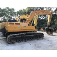 Cheap A/C Cabin Second Hand Hyundai Excavators 220LC-5 Smooth Running Long Lifespan for sale