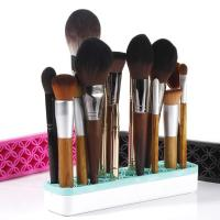 China Silicone Storage Box Cosmetic Face Makeup Products Beauty Tools Silica Hair Material on sale