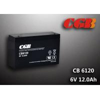 Cheap CB6120 charging high capacity AGM Lead Acid Battery 6V 12AH Anti Erosion Alarm System wholesale