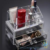 Cheap clear acrylic lockable storage box wholesale