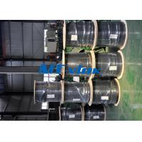 Cheap Welded Single / Multi Core Stainless Steel Coiled Tubing TP304L 316L Seamless for sale