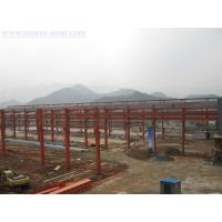 Cheap Wide Span Pre-Engineering Industrial Steel Buildings Frame , Movable Container House for sale
