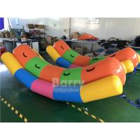 Cheap Double Tubes Inflatable Water Totter / Inflatable Water Seesaw For Water Park for sale