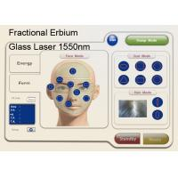 Cheap 1550nm Fractional Erbium Glass Laser For Skin Resurfacing , Anti Wrinkle Machine for sale