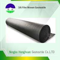 Cheap 120gsm Split Film PP Woven Geotextile High Strength Slop Protection wholesale