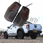 Cheap Black Dynamic Car Rear Light For Ford Ranger 2012-2019 / Led Tail Lamp for sale