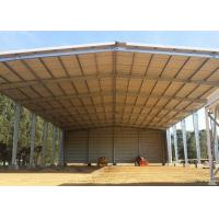 Cheap Open Sides Garage Metal Warehouse Buildings Construction Metal Sheds Design for sale
