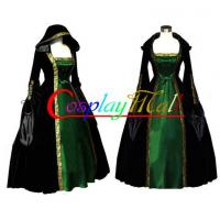 Cheap Wholesale Halloween Christmas Long Sleeve ROCOCO Ball Grown Gothic Medieval Victorian for sale
