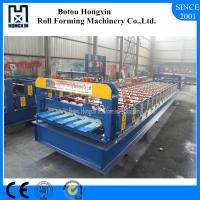 Cheap PLC Control Roofing Sheet Roll Forming Machine , Automatic Roller Forming Machine wholesale
