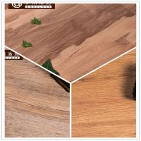 Cheap 3W Avoid Glue/Interlocking/Environmental Protection/Home DecK/Wood Grain PVC Floor(6-8mm) for sale