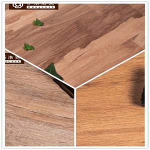 Cheap 3W Avoid Glue/Interlocking/Environmental Protection/Home DecK/Wood Grain PVC Floor(6-8mm) for sale