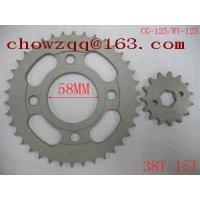 Cheap YOG Motorcycle Chain and Sprocket Kit CG125 for sale