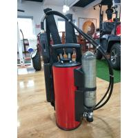Buy cheap Fire Fighting Equipment 9L backpack water mist fire extinguisher from wholesalers