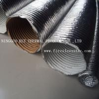 China Thermo-Tec Thermo-Flex Aluminum foil heat shield sleeves on sale