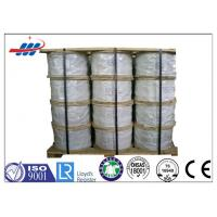 China Durable Galvanized Steel Strand For Guy Wire / Barrier Cable , ISO CE Certification on sale