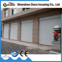 China Galvanized steel automatic overhead sectional Industrial sectional door on sale