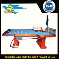 98 Length Casino Red Stainless Leg Luxury Roulette Table