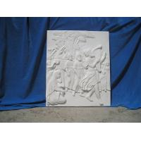 Marble relief stone carved figure of