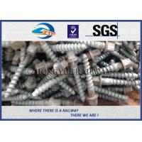 Cheap Stainless Steel Rail Screw Spike 5.6 Grade For Railway Fasteners for sale