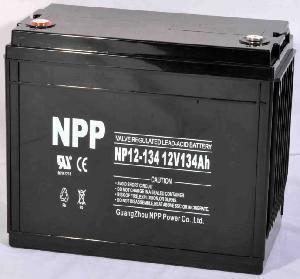 Cheap Lead Acid Battery Np12-134ah (UL, CE, ISO9001, ISO14001) for sale