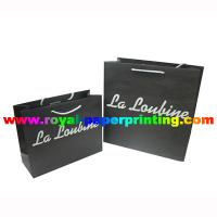 Buy cheap shoes/apparel/cosmetic/jewelry paper bag customize made from wholesalers