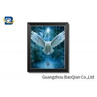 Cheap 30 X 40 Cm 3D Lenticular Pictures With PS Frame / Custom Lenticular Printing for sale