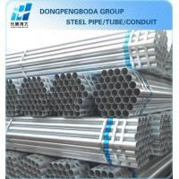 Cheap export g90-300 bs 1387 galvanized steel pipe plain end China supplier made in China for sale