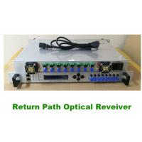 Cheap TUOLIMA HFC OR2008R 8 way Return Path Optical Receiver with 8 way independent path receiving and amplifier for sale