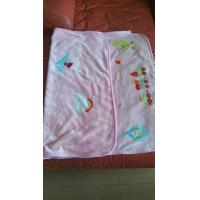 Cheap polyester fleece cartoon print children blanket fabric (baby sac )/size 80X100CM for sale