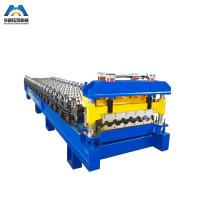 Cheap Color Steel Glazed Tile Roll Forming Machine Nigerian To Mexico for sale