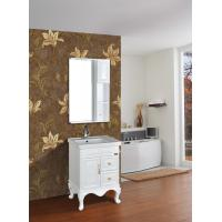 Cheap Cabinet Antique Classical Bathroom Furniture Single Vanity With Legs for sale