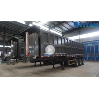 80 Ton Hydraulic Dump Tipper Trailer for Sale in Namibia