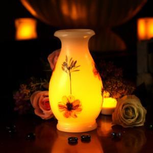China vase,glass vase,home decor,LED Flower vase light,LED Flower Vase pot lys,Bloemenvaas licht on sale