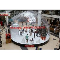 Cheap bubble tent igloo, bubble balloon tent market city, inflatable clear dome tent for sale