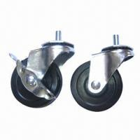 Cheap Caster and stem, 40mm swivel radius for sale