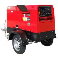 Cheap Mobile Arc Welding Current 500A Diesel Welding Machine With Electrode Holder for sale