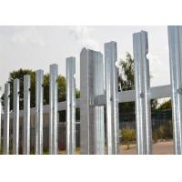 Cheap Hot dipped Galvanized Palisade fencing for sale