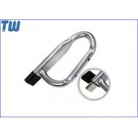 Cheap Promotion Safety Carabiner 8GB Pen Drive Disk Device Without Lock for sale