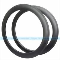 Buy cheap 7-tiger Disk Bike 60 x 25 mm basalt brake carbon Clincher road rims ud weave from wholesalers