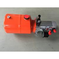 Cheap Orange 6L Steel Tank DC Compact Hydraulic Power Unit for Dump Trailer wholesale