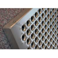 Cheap Aluminum Grip Strut Plank Metal Safety Grating Q235 Perforated Stairs Trends Grating for sale